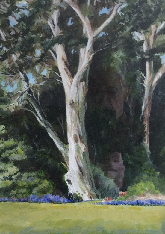 Martin Richards painting of tree